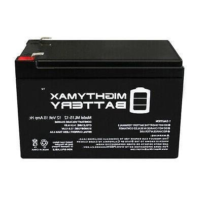 Mighty Max F2 Motorino VTs Electric Scooter Battery