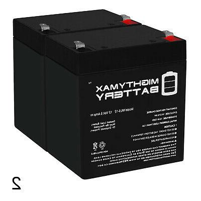 mighty max 12v 5ah battery replacement
