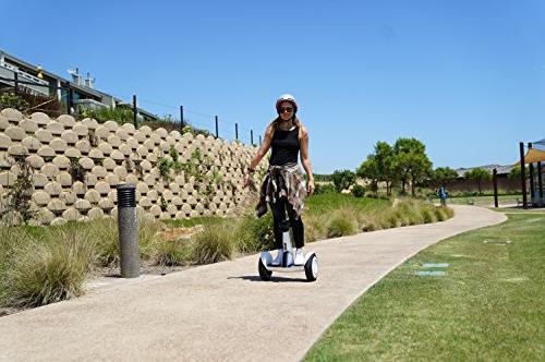 "SEGWAY Personal Tires, to range and12.5 ""follow me"" Fully Integrated"