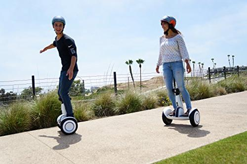 "SEGWAY Self-Balancing Personal Tires, up range me"" feature, Mobile Control"