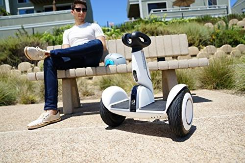 "SEGWAY Self-Balancing Personal Transporter, Tires, range mph, me"" feature, Mobile Control"