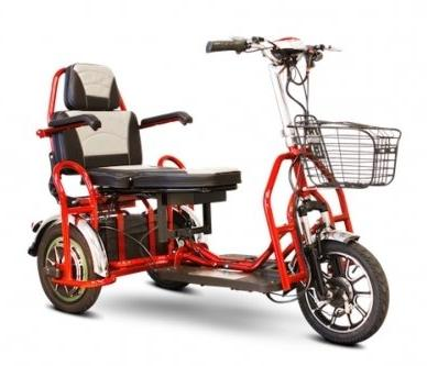 Mobility E-Wheels EW-02 Electric Folding Bariatric Mobility Scooter - Type Rear Brushless Motor