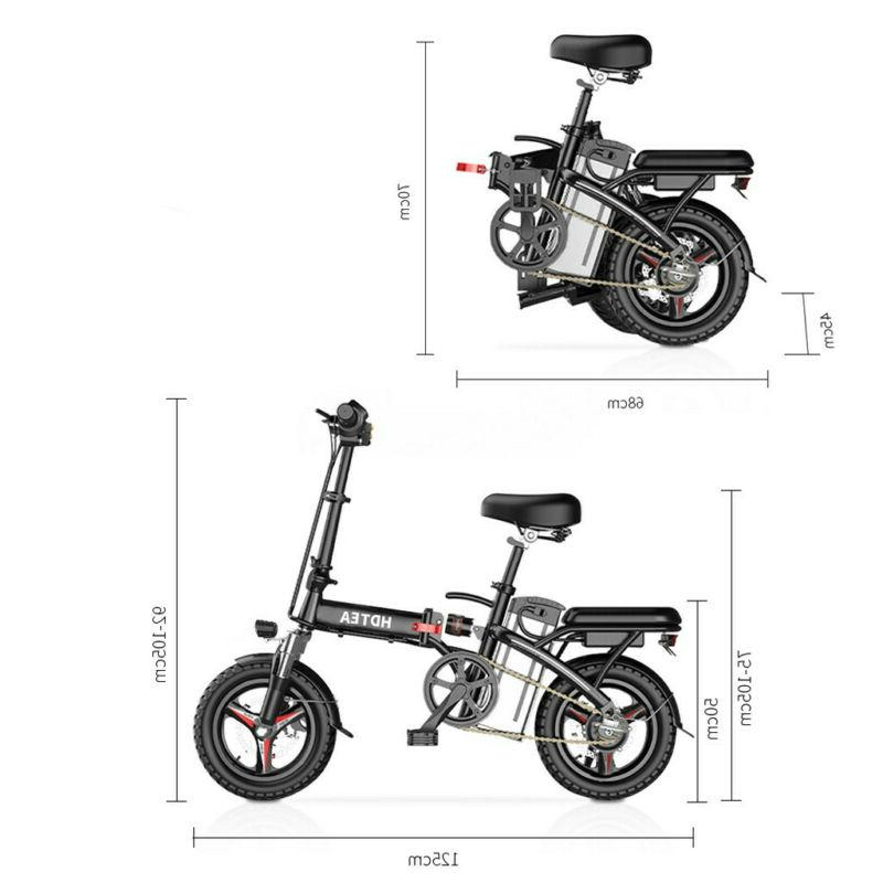 HDTEA Electric Suitable For Adults Ebike