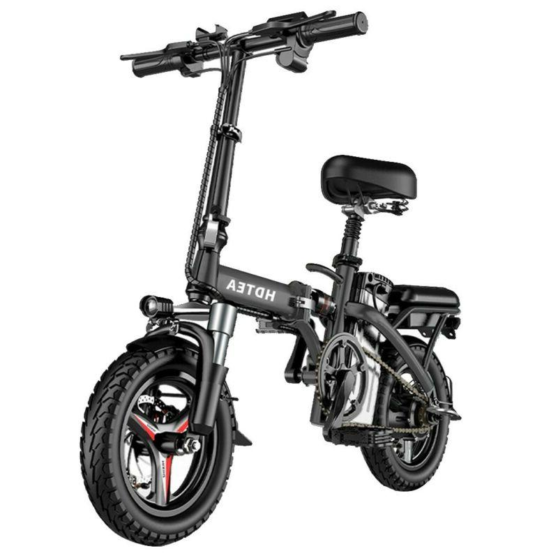 hdtea folding electric bike suitable for adults