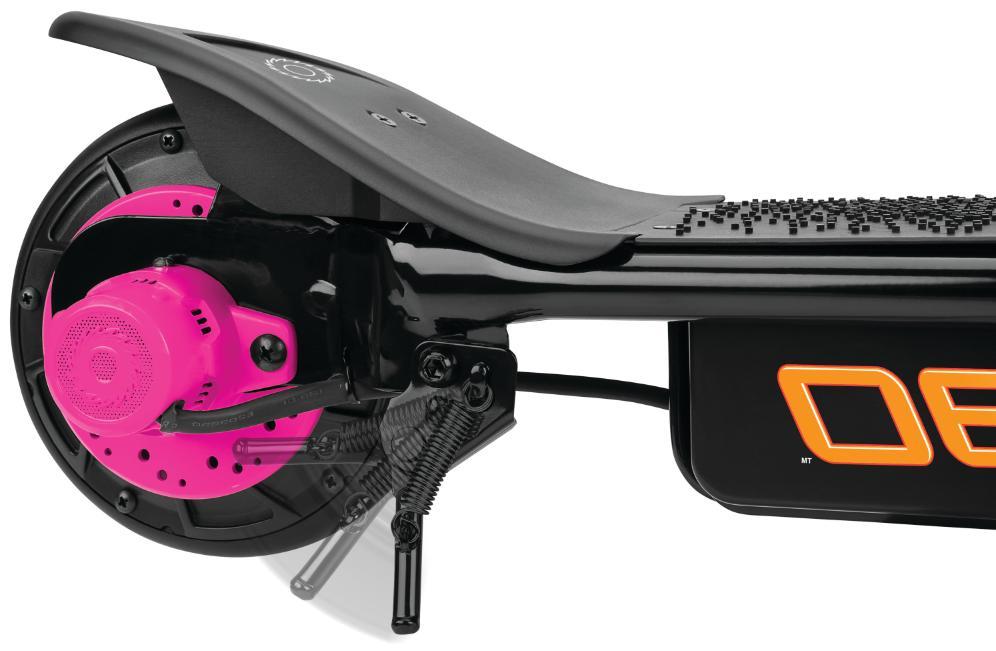 Motor Scooter 2 WHEELS Teen Kids Rechargeable Girls Toy