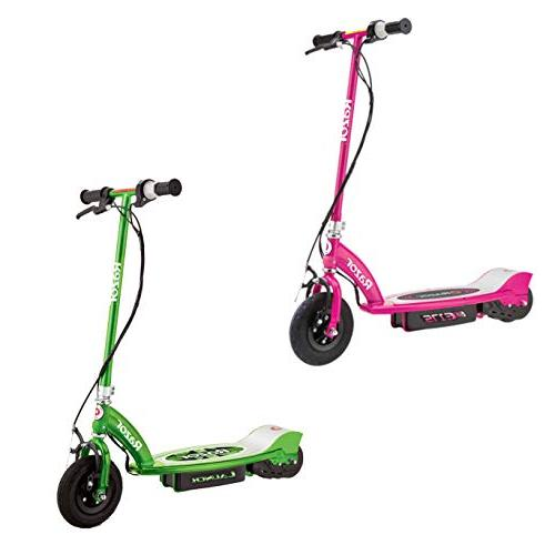 motorized rechargeable electric powered scooters