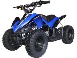 MotoTec Mini Quad 24 Volt v2 Powered Ride On - Blue