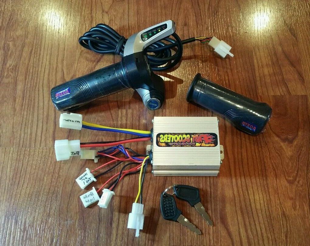 Razor E200 Speed - controller and