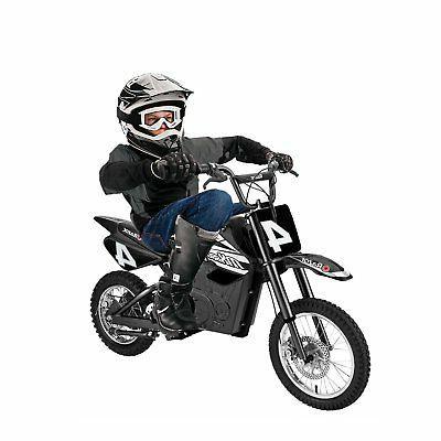 Razor 17 Steel Electric Dirt Bike for Teens Black