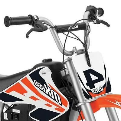 Razor High-Torque Motocross Dirt Bike, MPH,