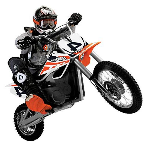 Razor MX650 Dirt Rocket Motorcross Motorcycle 1 Orange & Black