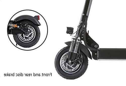 NANROBOT Speed Electric Scooter -Portable 40 MPH and Range Riding, & 330lb Load