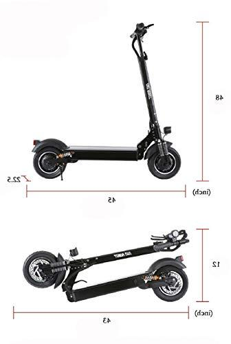NANROBOT Scooter Folding, MPH and Mile Range of &