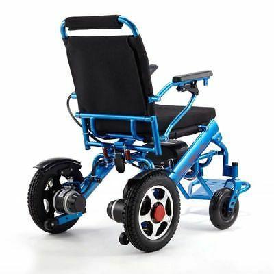 110/220V Folding Mobility Old Elderly Wheelchair