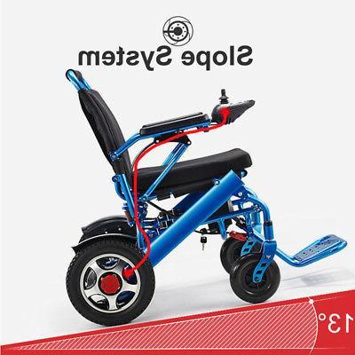 110/220V Folding Old Elderly Disabled Wheelchair