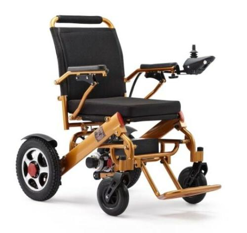 NEW 110/220V Folding Mobility Old Disabled Electric Wheelchair