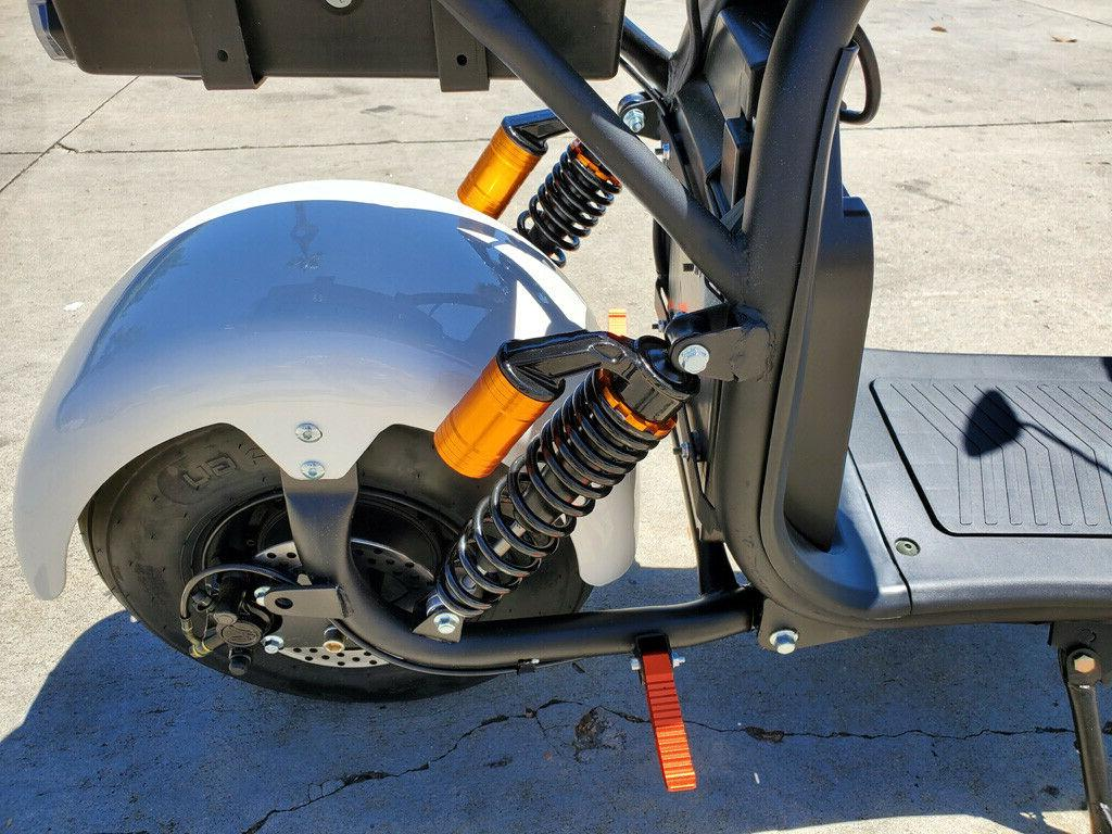 New 2000W + 40AH Double CityCoco Fat Tire Bike