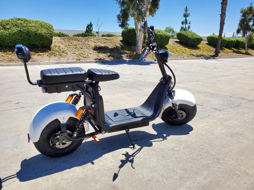 New 2000W + 40AH Double Fat Bike
