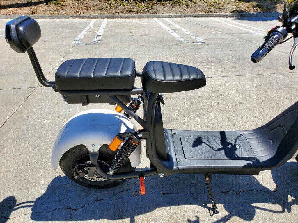 New 2000W + Double Seat Fat Bike