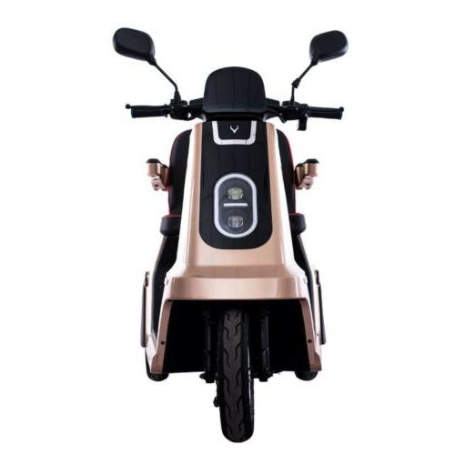 NEW!!! 2019 SEEV Heavy Wheel Scooter Gold