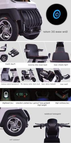 NEW!!! 2019 Heavy Electric Wheel Mobility Scooter Gold