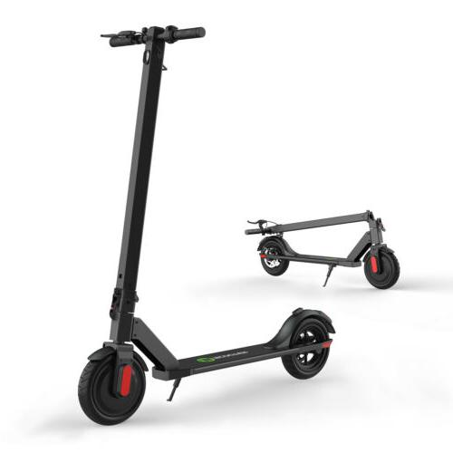 WideWheel Scooter High Folding E-Scooter