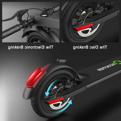 MEGAWHEELS S5 Electric 2 Wheelers Black Kick Scooter