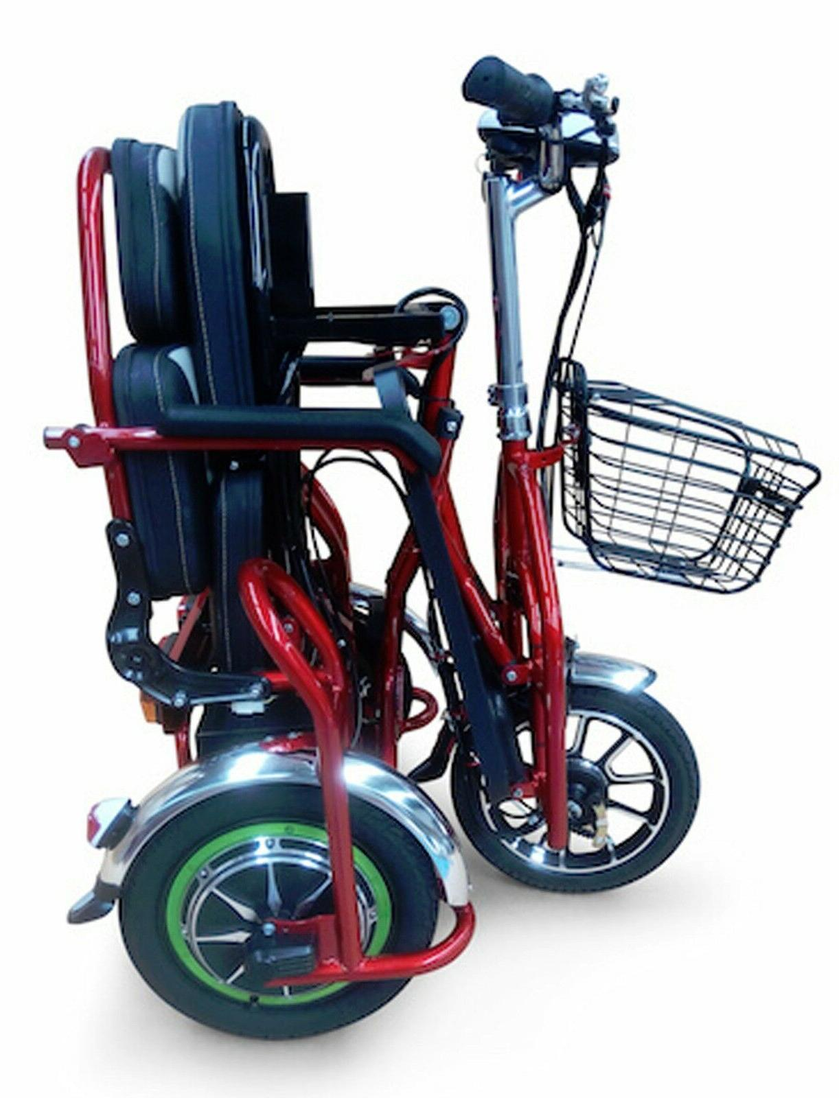 NEW EWheels Heavy Duty Scooter for 1 Riders, Goes Up