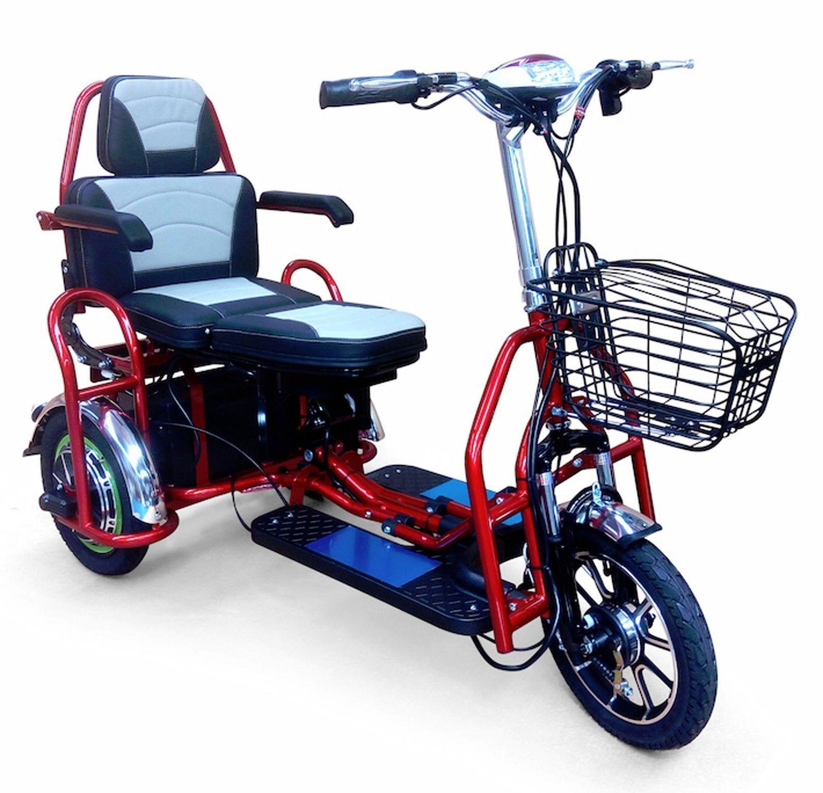 new ew 02 heavy duty folding scooter