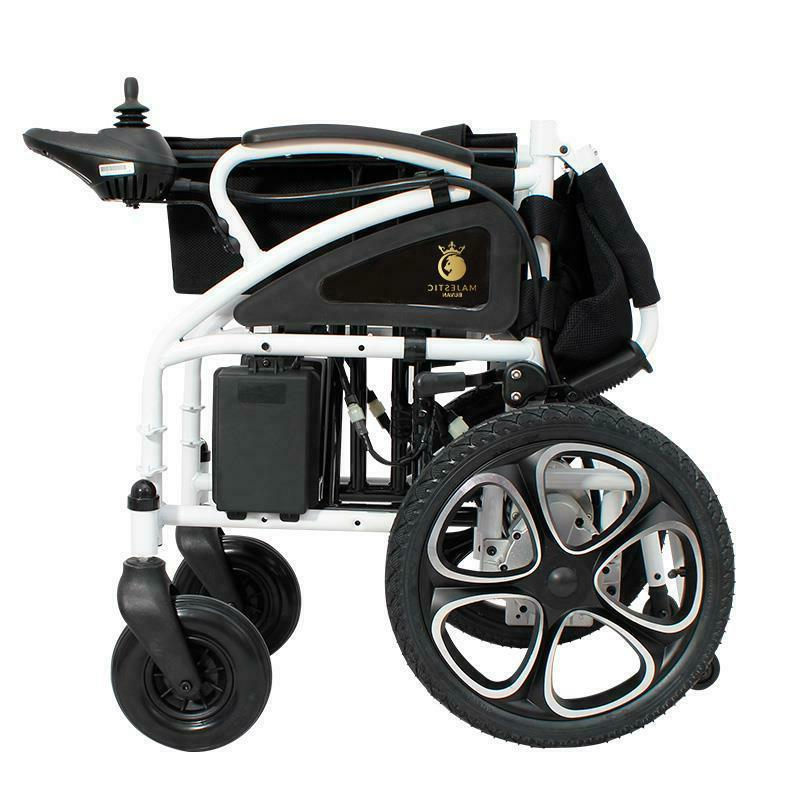 NEW Foldable Lightweight Heavy Power Wheelchair