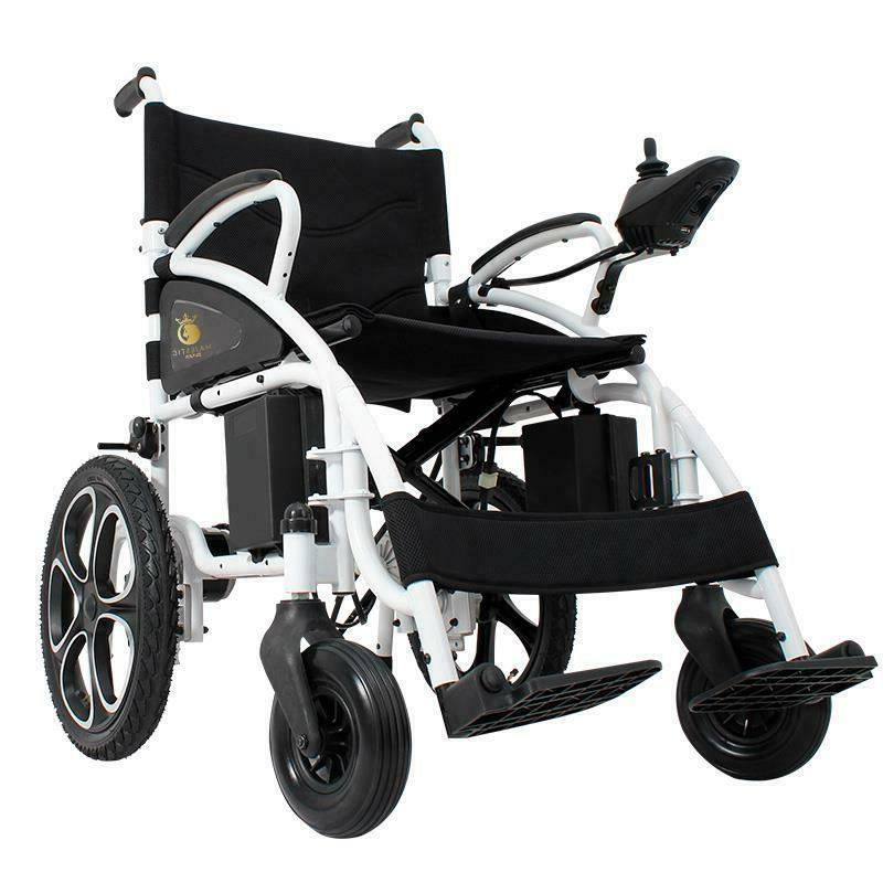 new foldable electric wheelchair lightweight heavy duty