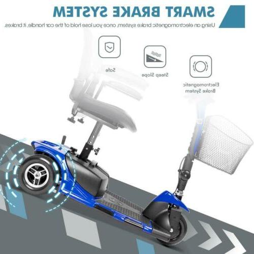 New Electric Powered Scooter Wheel Blue