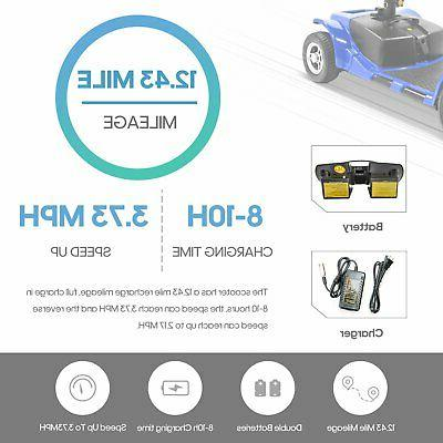 4 Wheel Mobility - Electric Powered Device Compact Travel