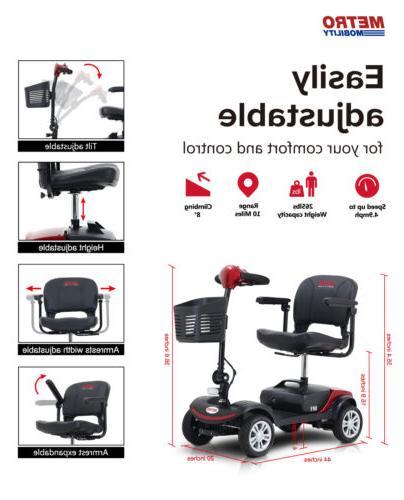 New Folding Mobility 4 Travel
