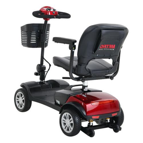 New Folding Mobility Scooter Travel Elderly Scooter
