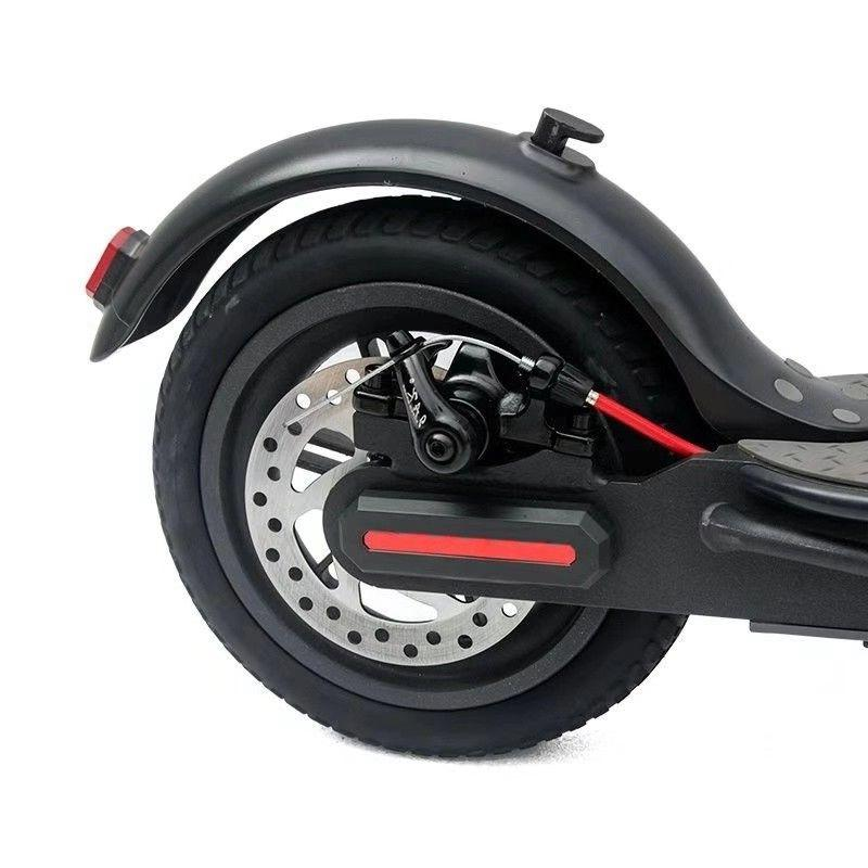 New Hoveroid Electric Kick Scooter Range Bat. White Black