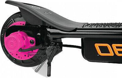 Kids Scooter Years Up Steel Sturdy Pink
