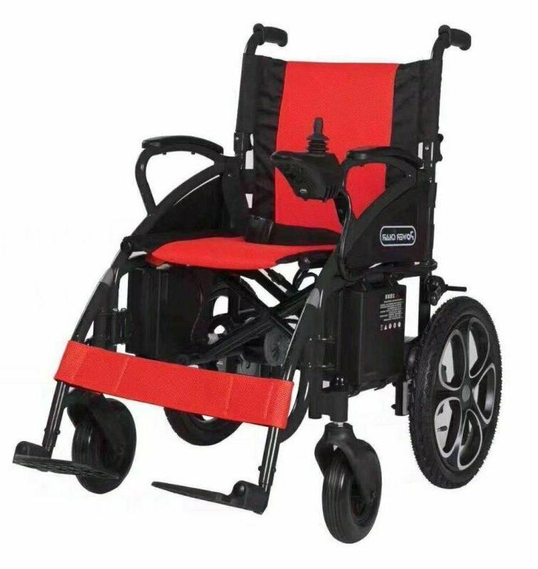 New Control Ultra Red Electric Wheelchairs