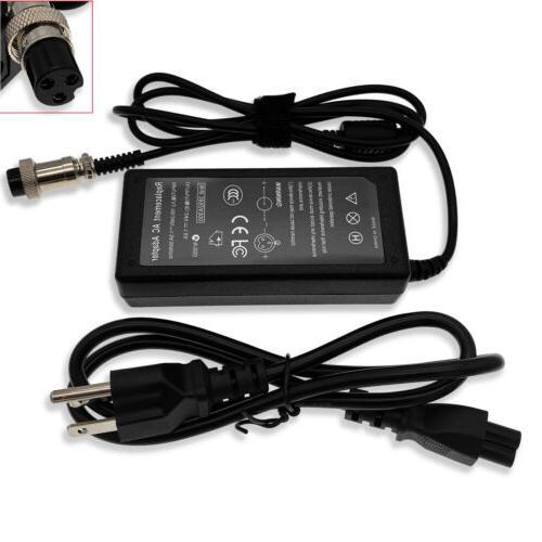Bike Battery Charger for Razor E100 E125 E200 E300 E500S PR2