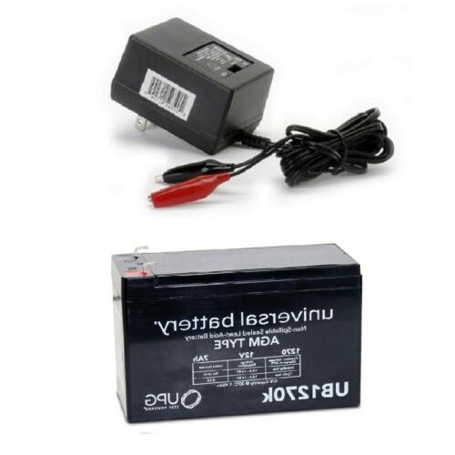 new ub1270 12v 7ah replacement battery