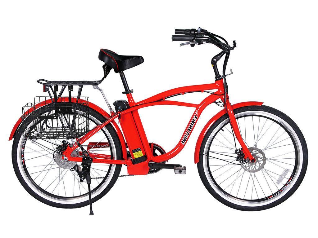 X-Treme Newport Beach Cruiser Bicycle -RED,
