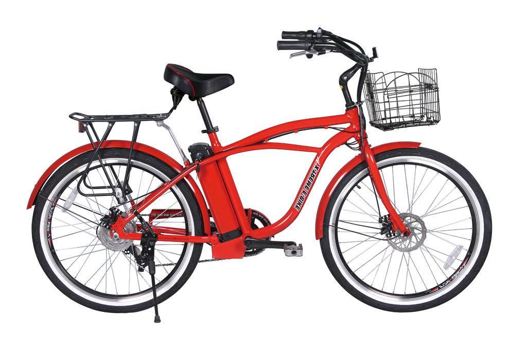 X-Treme Electric Beach Cruiser Bicycle Free Shipping