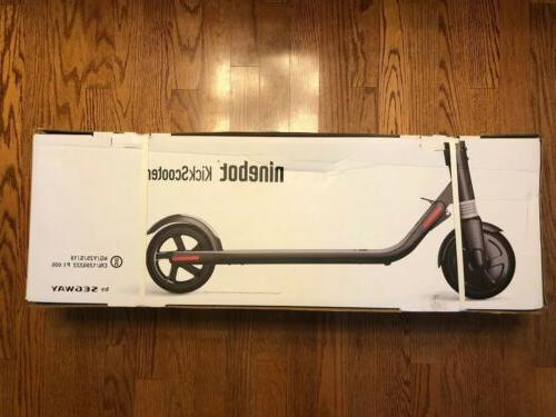 Ninebot ES2 Electric Scooter - Silver