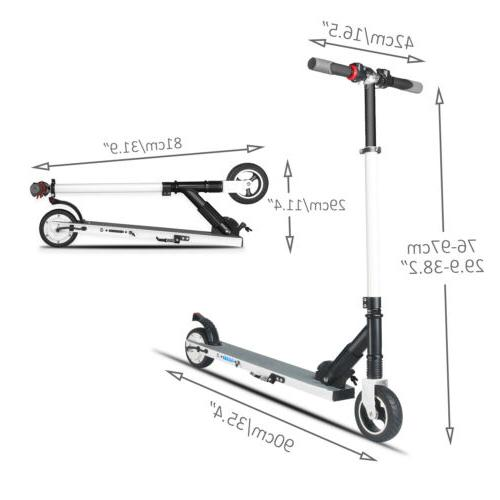 Non-slip Pro Electric Metal Tricks Adult Scooters Durable