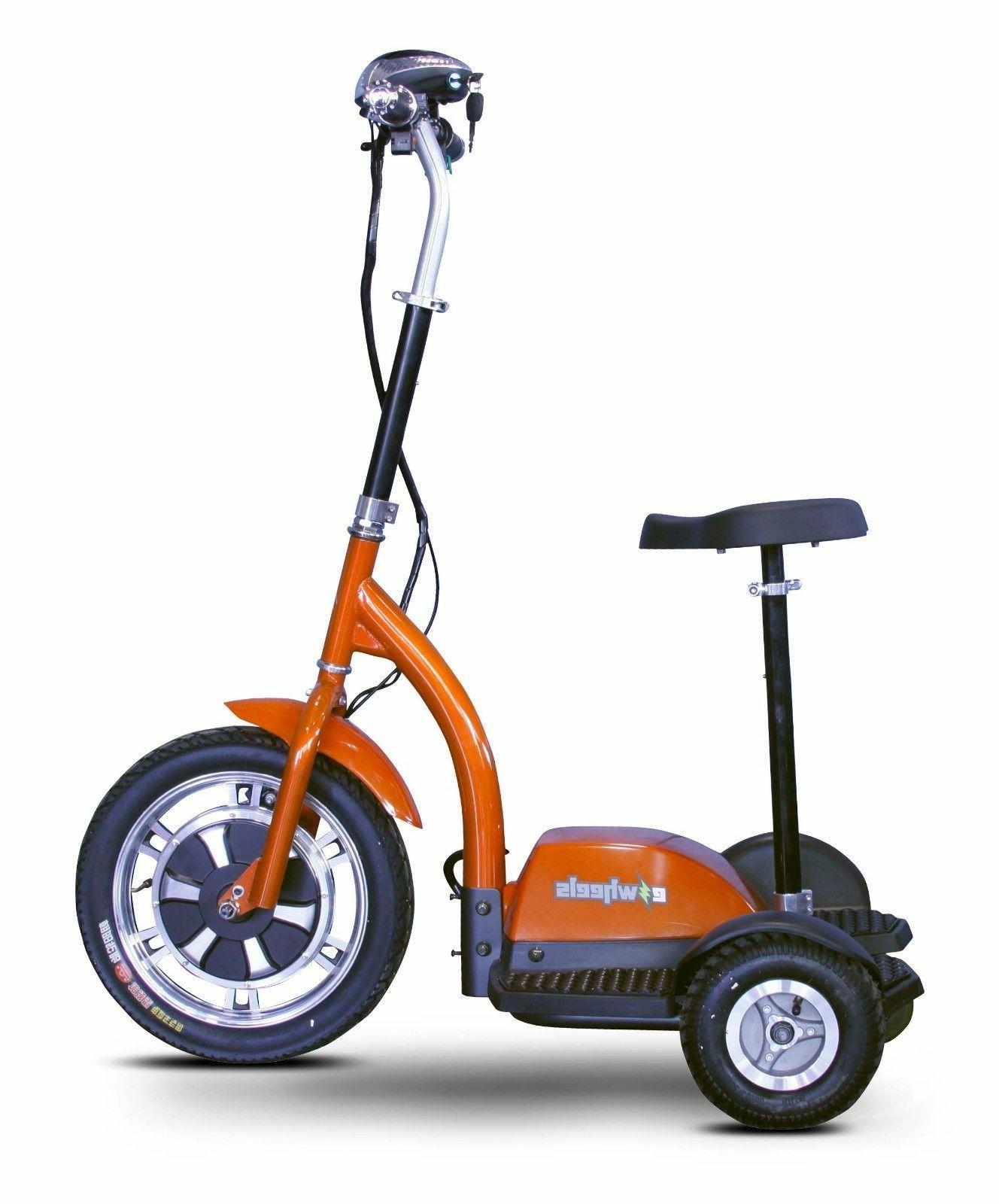 eWheels Orange Sit Stand 15mph