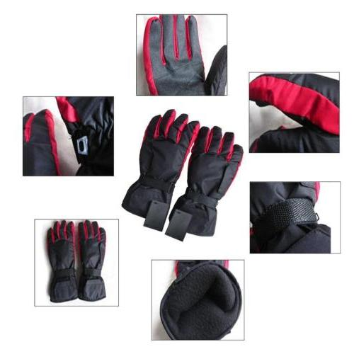 Outdoor Battery Gloves Thermal Bike Scooter