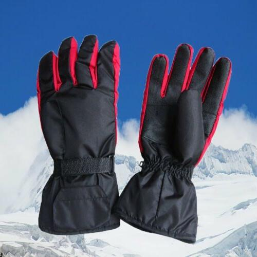 Outdoor Battery Heated Gloves Motorcycle Scooter Winter
