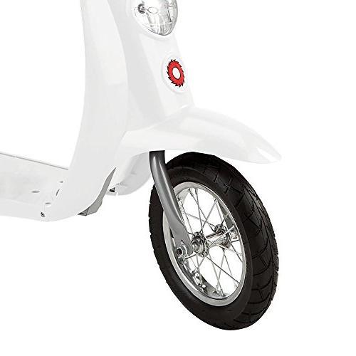 Razor Pocket Miniature Electric Scooter, White