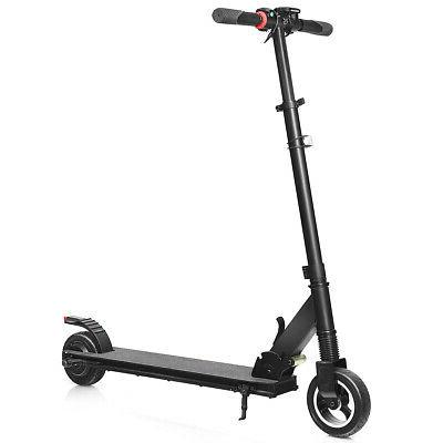 portable 250w electric kick scooter brushless motor