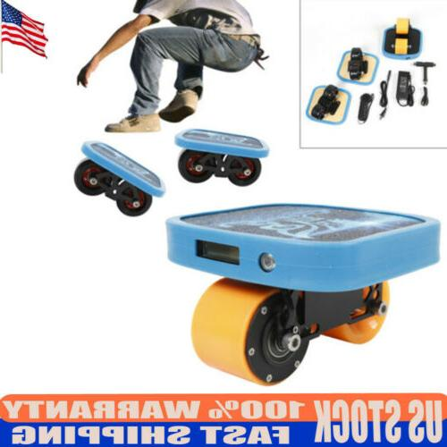 portable 3xelectric drift board skateboard scooter remote